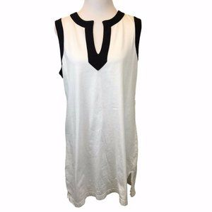 Lands End Tunic Top Cover Up Womens Large 14-16-